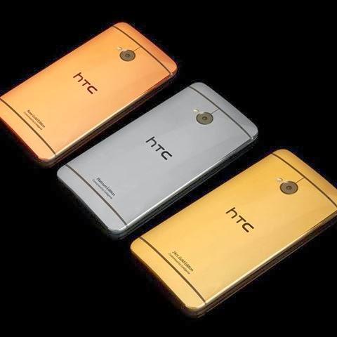 HTC One مصنوع من الذهب الخالص فقط ب 4000 دولار | بحرية درويد