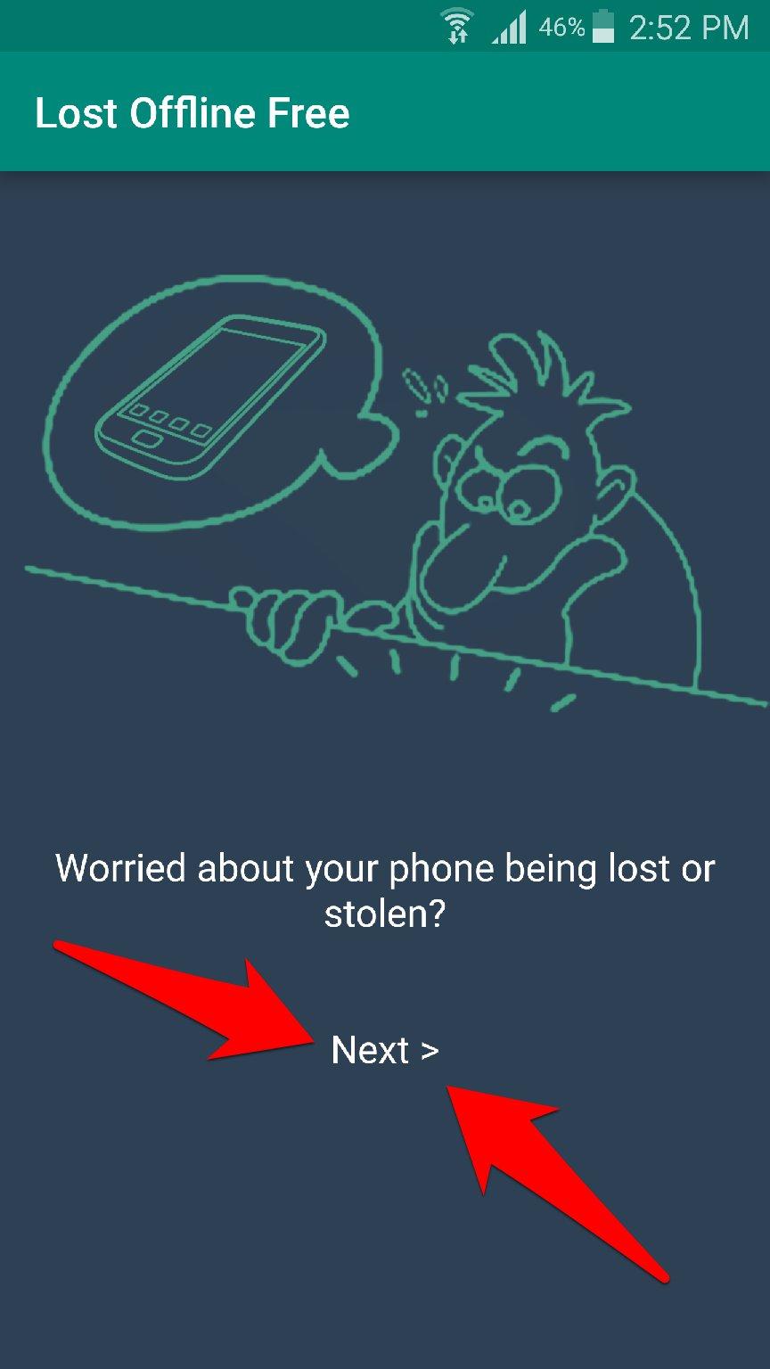 تطبيق Lost Offline لتحديد مكان جوالك المسروق بدون انترنت | بحرية درويد