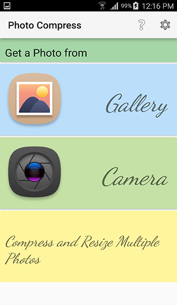 تطبيق Photo Compress لتصغير حجم الصور مع الحفاظ على جودتها | بحرية درويد