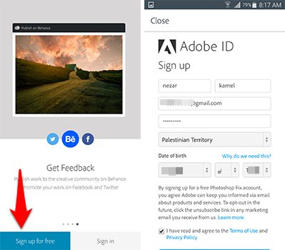 حمل تطبيق الفوتوشوب الجديد لاجهزة الاندرويد Photoshop Fix | بحرية درويد