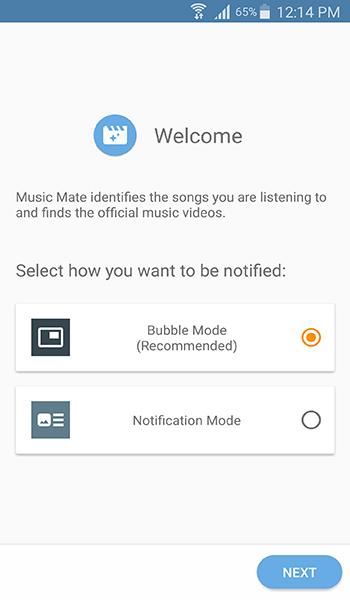 تطبيق Music Mate للبحث عن فيديو للموسيقى التى تسمعها | بحرية درويد