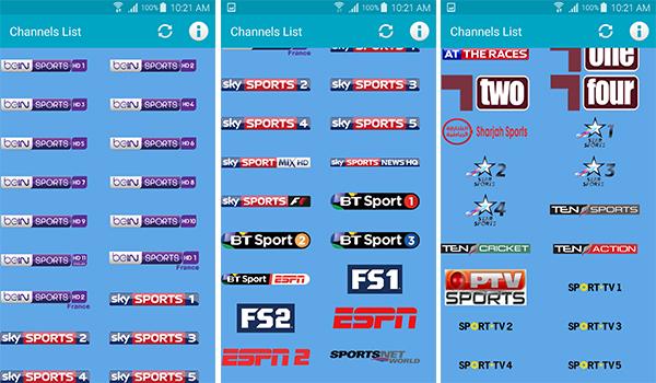 [بدون اعلانات] تطبيق لمشاهدة قنوات الرياضة ومباريات كرة القدم المشفرة مباشرة مجانا | بحرية درويد