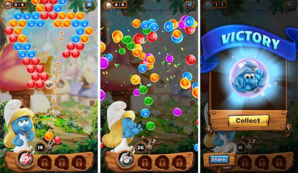 حمل لعبة السنافر Smurfs Bubble Story واسترجع ذكريات الطفولة | بحرية درويد