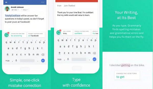 تطبيق لوحة المفاتيح Grammarly للكتابة باللغة الانجليزية بدون اخطاء املائية | بحرية درويد