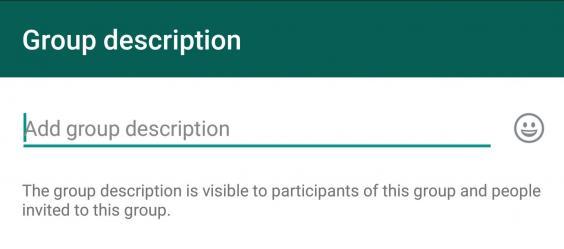 تحديث جديد لواتس اب WhatsApp يضيف ميزة وصف المجموعات على أندرويد و iOS | بحرية درويد