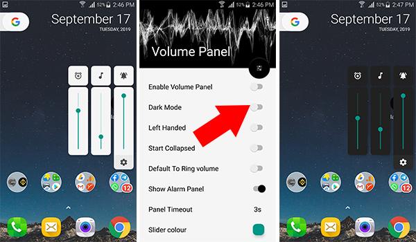 طريقة جديدة للتحكم في صوت جوالك الاندرويد تطبيق Volume Panel | بحرية درويد