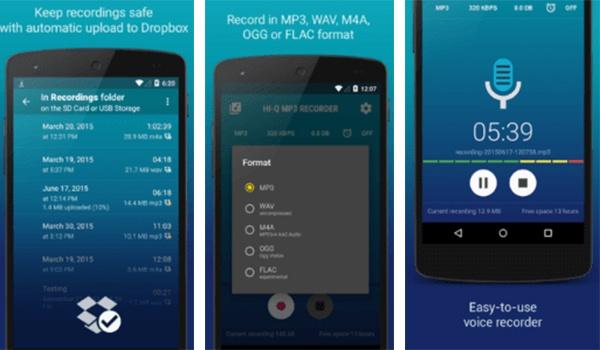 تطبيق Hi-Q MP3