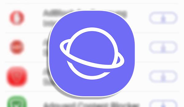 متصفح سامسونج للانترنت يدعم تحميل الاضافات الخارجية لجوجل كروم و فايرفوكس | بحرية درويد