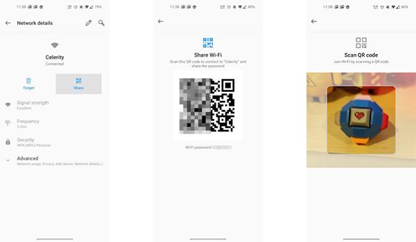 كيفية مشاركة باسورد الواي فاي أندرويد من خلال رمز QR